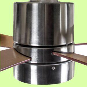 ventilador de techo ZURICH con motor DC de 5 velocidades regulables mediante mando a distancia