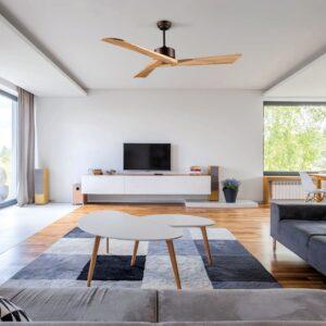 NAUTIC, ventilador de techo silencioso en salón