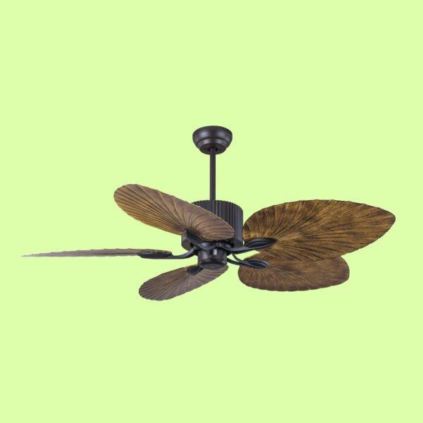 FIJI, ventilador de techo con elegante diseño. Cuenta con tres velocidades de giro y accionado mediante cadena