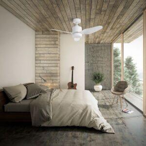 Ventilador MAUI de fácil instalación en una habitación