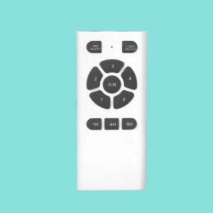 El ventilador MANILA cuenta con mando a distancia programable.