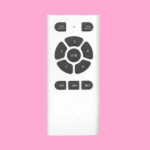 El del ventilador NASAU es programable en 3 tiempos: 1h/4h/8h mediante mando a distancia