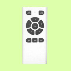 Ventilador ZURICH con mando a distancia, regula la velocidad de giro y la temperatura de color