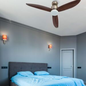 CIES, ventilador de techo silencioso en dormitorio