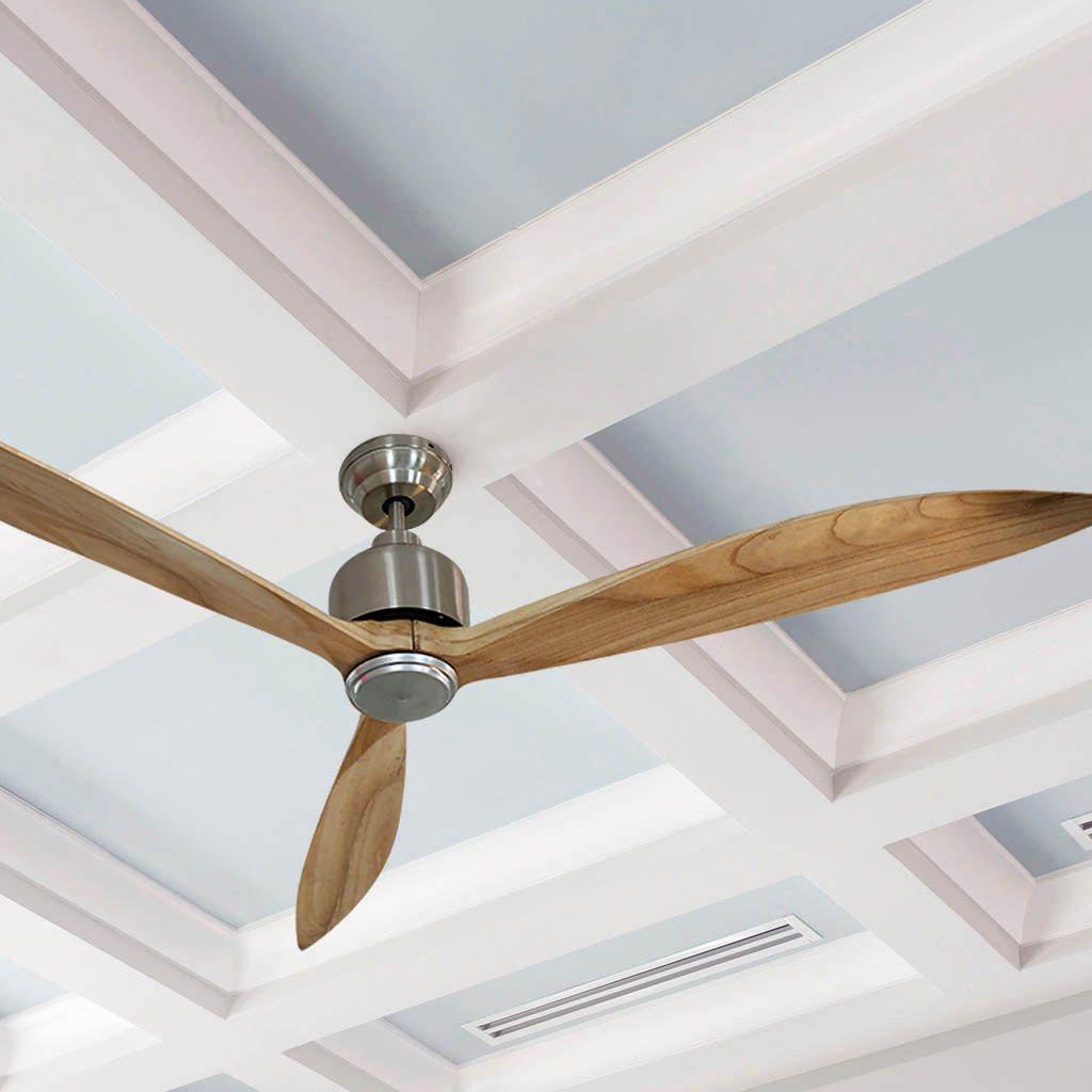 Ventilador de techo MILANO climatizando una estancia