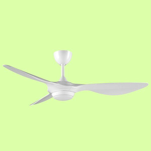 Ventilador de techo RIO con motor DC de varias velocidades y 3 temperaturas de color