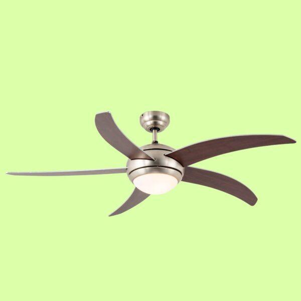 TAHITI, Ventilador de techo de fácil instalación y mando a distancia incluido