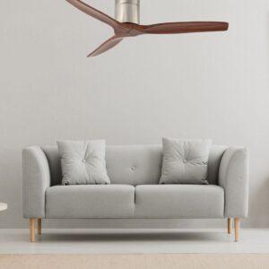 VIENA, ventilador de techo silencioso en salón