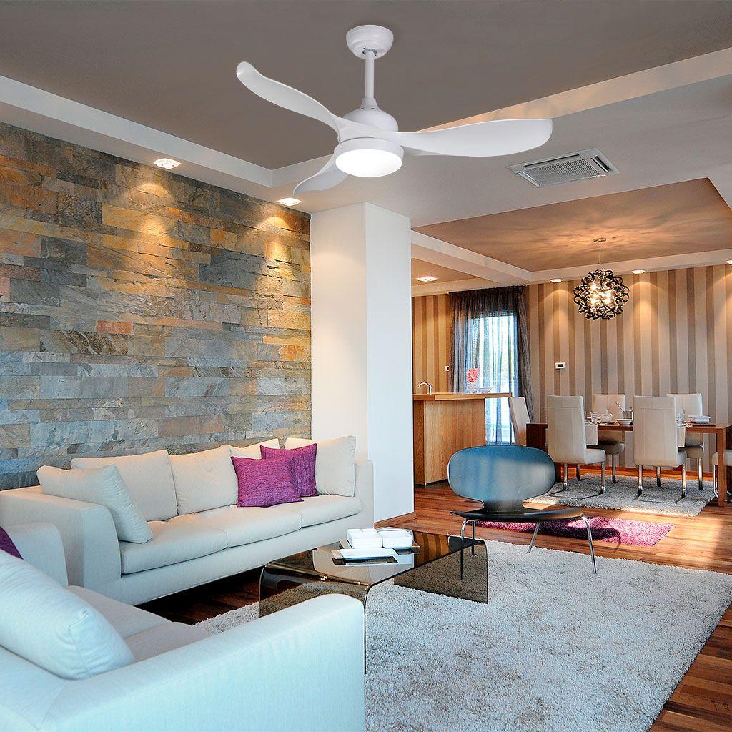 ICARIA, ventilador de techo ilumina y climatiza las estancias