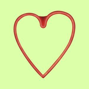 Neón HEART luz