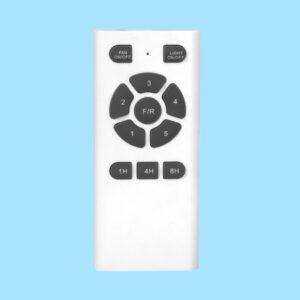 Ventilador de techo GAIA incluye mando a distancia para pregular la velocidad de giro y la programación por horas