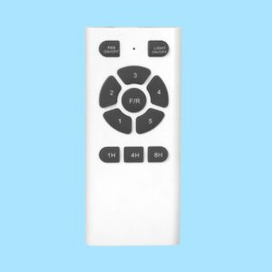 Ventilador TAVIRA incluye mando a distancia programable.