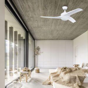 TAVIRA, ventilador de techo silencioso para el dormitorio