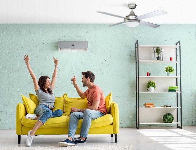 ¿Ventilador de techo o aire acondicionado?