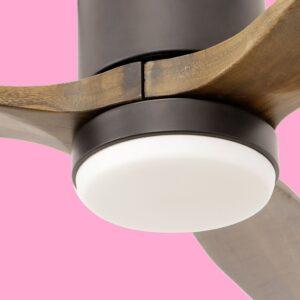 Ventilador de techo MOALA detalle plafón