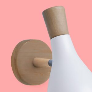 Foco PIKE nuevo blanco detalle