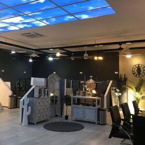 Showroom y laboratorio