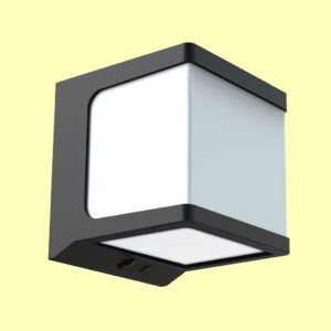 Aplique de pared solar JANO lateral