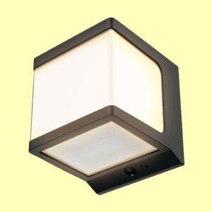 Aplique de pared solar JANO luz