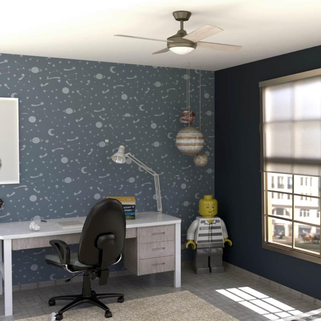 Ventilador de techo BORA M PRO detalle ambiente