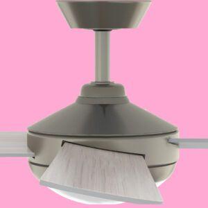 Ventilador de techo BORA M PRO detalle aspa reversible
