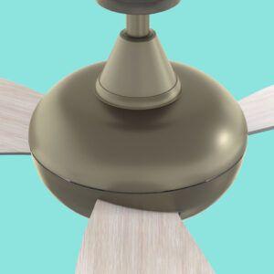 Ventilador de techo CAPRI detalle cabeza