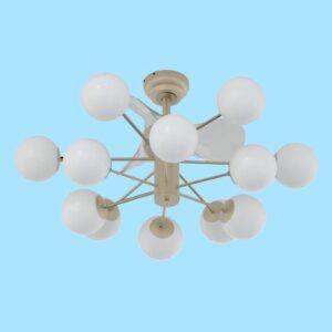 Detalle 2 ventilador de techo NOJA