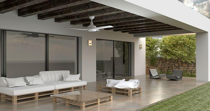 Ventiladores para uso exterior