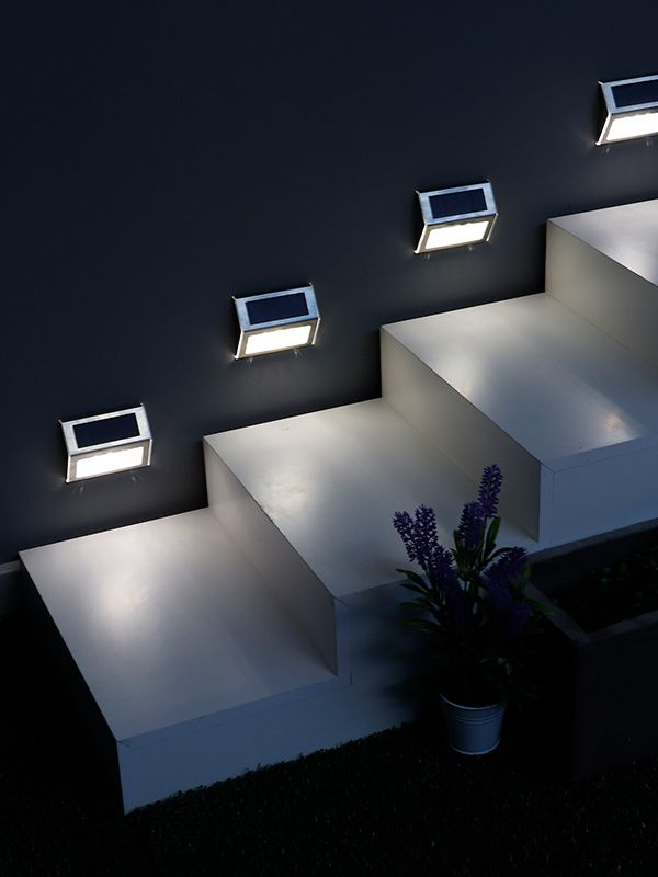 Iluminación solar exterior para <strong>ZONAS PEQUEÑAS</strong>