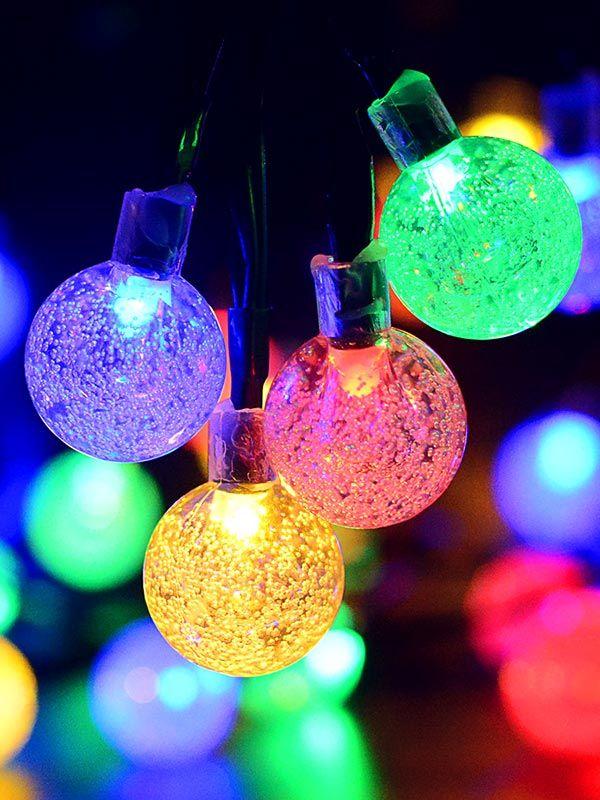 Lámparas solares con luz <strong>RGB</strong>
