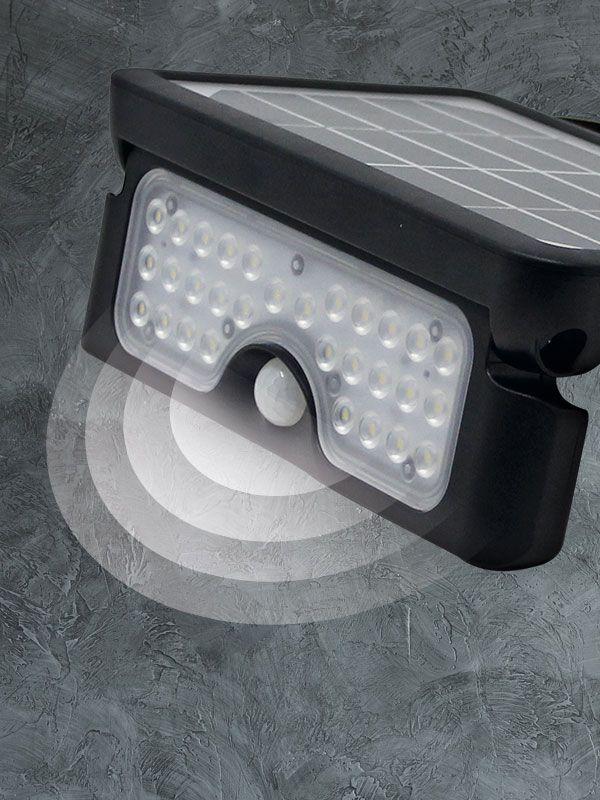 Lámparas solares con <strong>SENSOR DE PRESENCIA</strong>