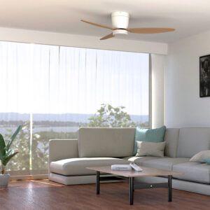 Ventilador de techo CONIL en salón