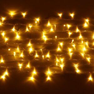 Guirnalda LIRA en fila iluminada